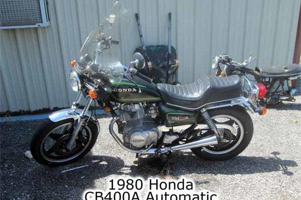 Honda CB400a Automatic 1980