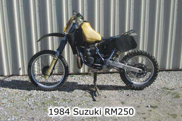Suzuki RM250 1984