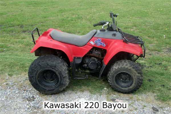 Kawasaki 220 Bayou