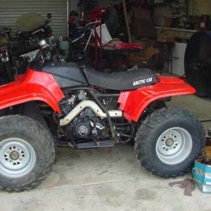 Arctic Cat 500 4x4 1999