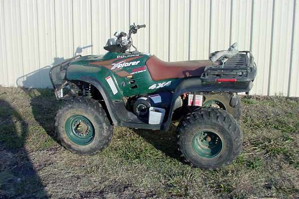 Polaris 400 xplorer 4x4