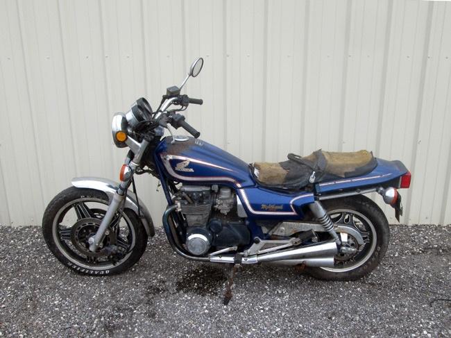 Honda 1982 CB650SC Nighthawk