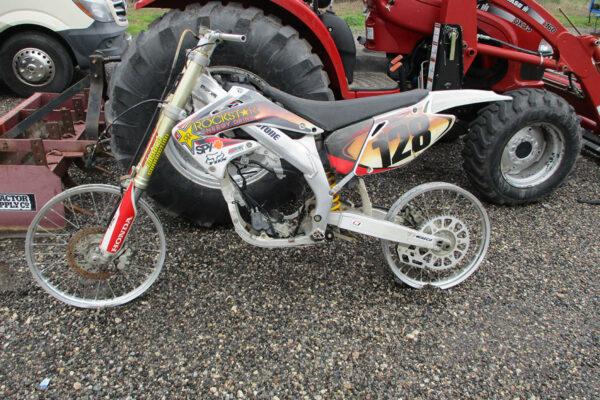 Honda CRF450 2002
